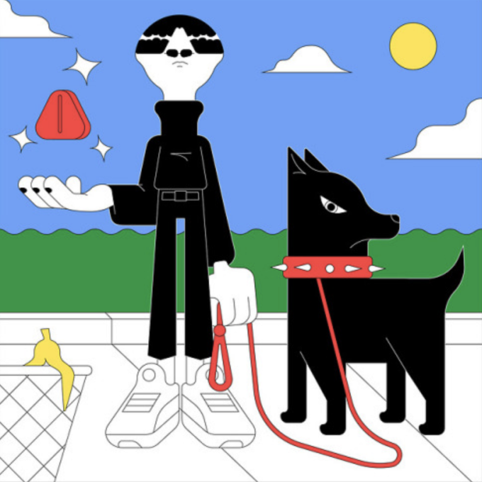 Ilustración de Álvaro Ardiles, Chile