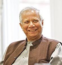 Muhammad Yunus, fundador de Grameen Bank y premio Nobel de la Paz