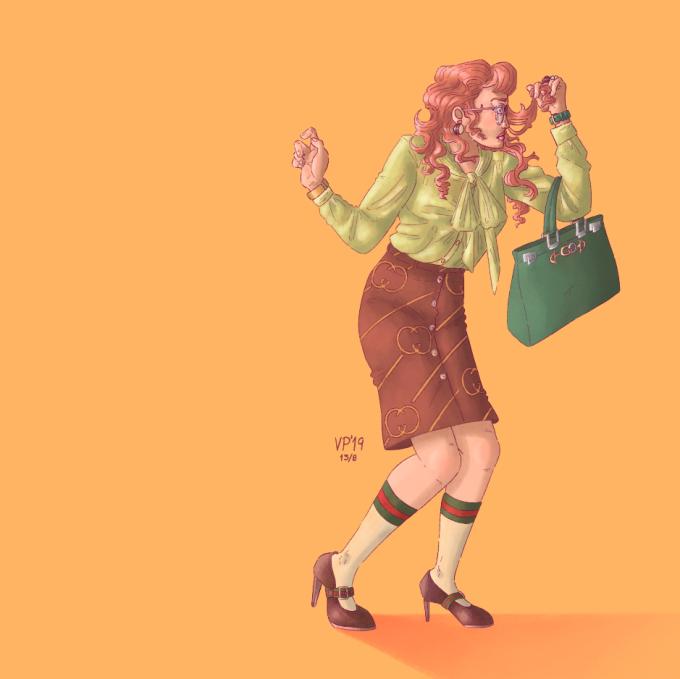 Ilustración de Valentina Palma, Chile